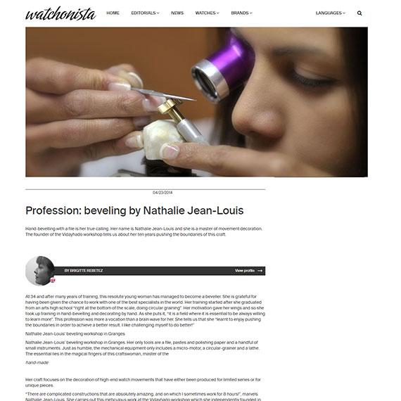 article du site watchonista.com